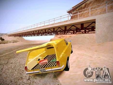 Volga GAZ-24 02 Van para GTA San Andreas vista hacia atrás