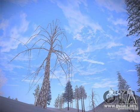Real Clouds HD para GTA San Andreas quinta pantalla