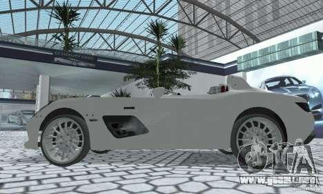 Mercedes-Benz SLR Moss 2008 para la visión correcta GTA San Andreas
