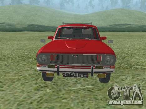 Volga GAZ-24 02 para GTA San Andreas left