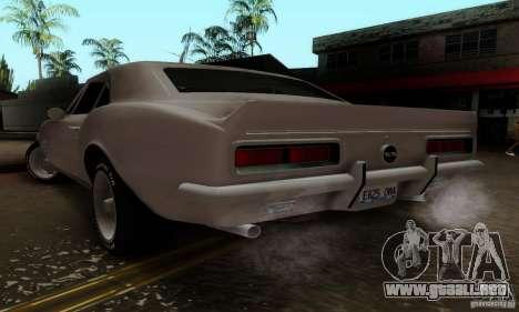 Chevrolet Camaro SS 1967 para GTA San Andreas left