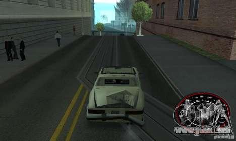 Speedo Skinpack FLAMES para GTA San Andreas segunda pantalla