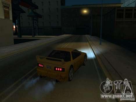 La Villa De La Noche v 1.1 para GTA San Andreas sucesivamente de pantalla