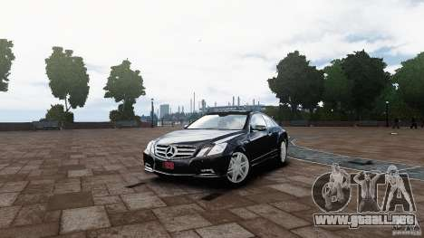 Mercedes Benz E500 Coupe para GTA 4