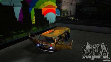 Comb do Bob and Rastaman para visión interna GTA San Andreas