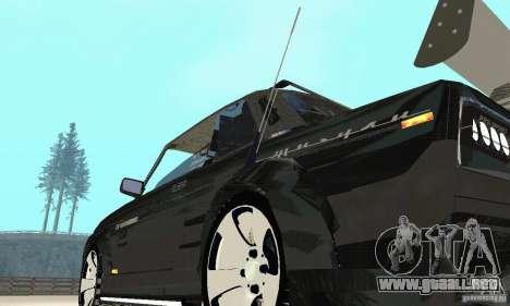 Tunning 2106 VAZ Fantasy ART para vista lateral GTA San Andreas