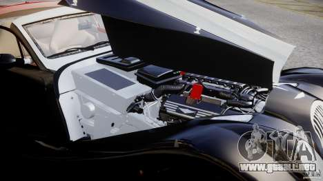 Morgan Aero SS v1.0 para GTA 4 vista superior