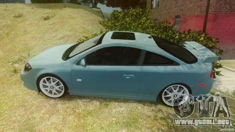 Chevrolet Cobalt SS para GTA 4 left