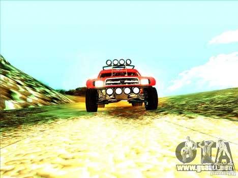 Toyota Tundra Rally para la visión correcta GTA San Andreas