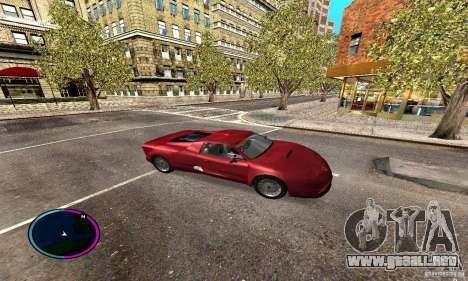 Axis Piranha Version II para GTA San Andreas