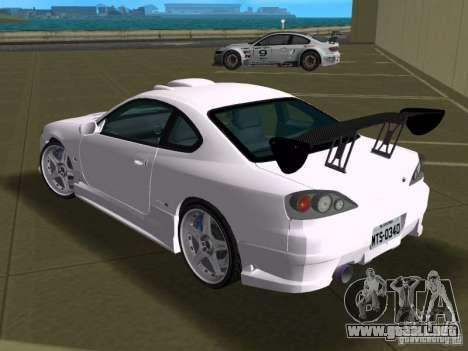Nissan Silvia spec R Tuned para GTA Vice City vista interior