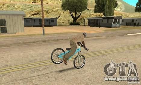 Dirt Jump Bike para visión interna GTA San Andreas
