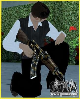 Tiger Weapon Pack para GTA San Andreas