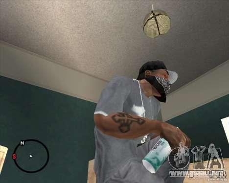 Rexona4Men Deodorant para GTA San Andreas segunda pantalla