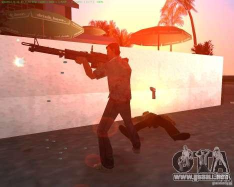 La nueva M-60 para GTA Vice City segunda pantalla