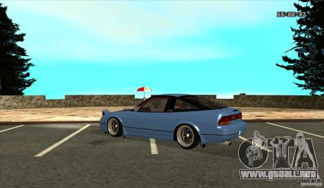 Nissan 240SX JDM para la visión correcta GTA San Andreas