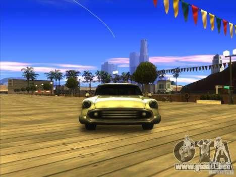 Glendale - Oceanic para GTA San Andreas vista hacia atrás