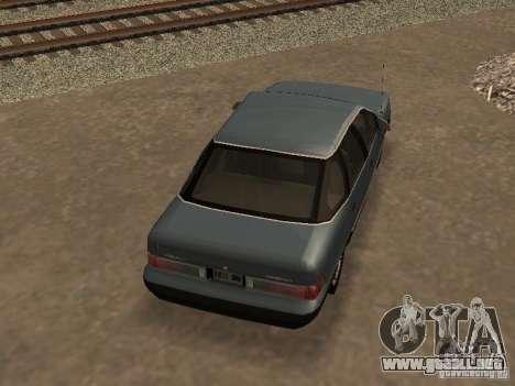 Mercury Sable GS 1989 para visión interna GTA San Andreas