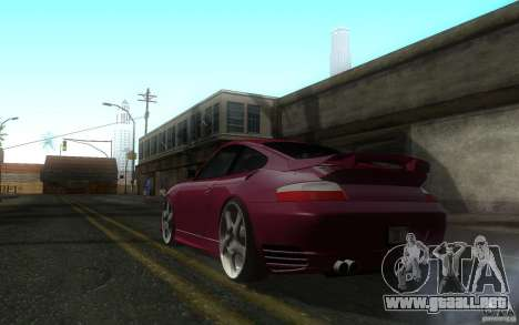 Ruf R-Turbo para GTA San Andreas vista posterior izquierda