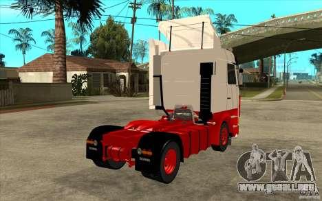 Scania 143M 450 V8 para la visión correcta GTA San Andreas