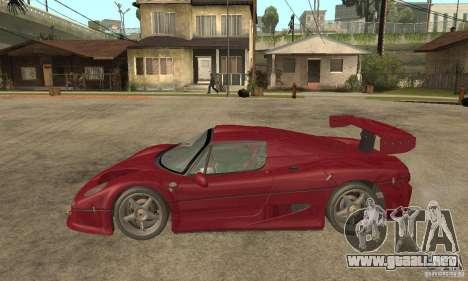 Ferrari F50 GT (v1.0.0) para GTA San Andreas left