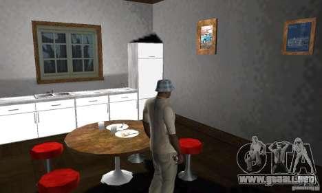 Nuevas casas de seguridad interiores para GTA San Andreas novena de pantalla