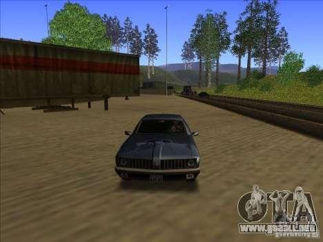 ENBseies v 0.075 para los equipos débiles para GTA San Andreas tercera pantalla