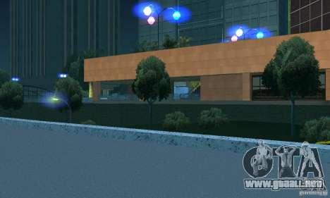 Faros azules para GTA San Andreas tercera pantalla