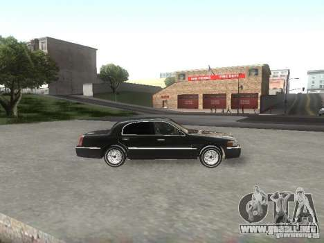 Lincoln Town car sedan para GTA San Andreas left