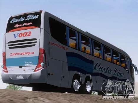 Marcopolo Paradiso 1200 G7 Volvo B12R para la visión correcta GTA San Andreas