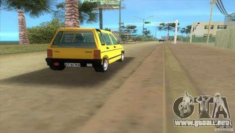 Daewoo Tico para GTA Vice City visión correcta