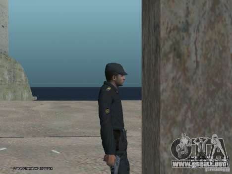 Sargento PPP para GTA San Andreas séptima pantalla