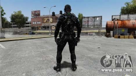 Sam Fisher v10 para GTA 4 tercera pantalla