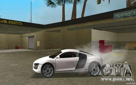 Audi R8 Le Mans para GTA Vice City left