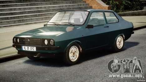 Dacia 1310 Sport v1.3 para GTA 4 vista hacia atrás