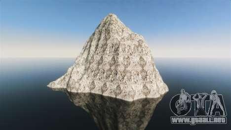 Paisaje de montaña para GTA 4