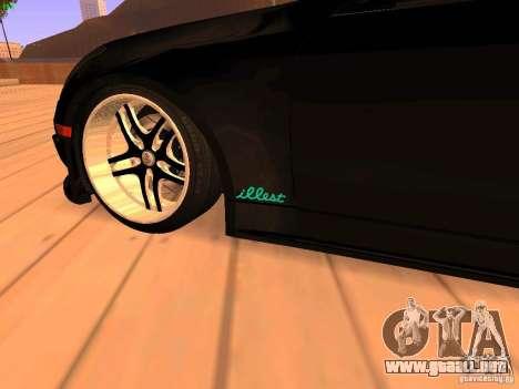 Infiniti G35 V.I.P para GTA San Andreas vista hacia atrás