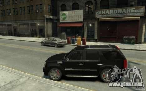 Cadillac Escalade v3 para GTA 4 left
