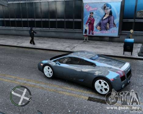 Lamborghini Gallardo 2005 para GTA 4 left