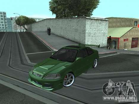 Honda Civic Si Sporty para GTA San Andreas