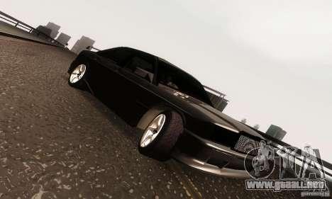 Mercedes-Benz 190E V2.0 para visión interna GTA San Andreas