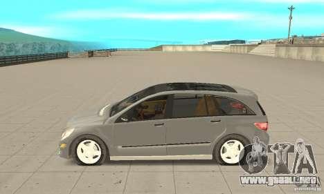 Mercedes-Benz R-Class para GTA San Andreas left