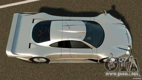 Mercedes-Benz CLK GTR AMG para GTA 4 visión correcta