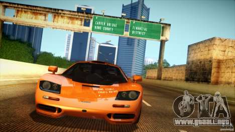 Direct B 2012 v1.1 para GTA San Andreas octavo de pantalla