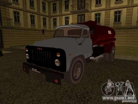 GAZ 53 aguador para GTA San Andreas