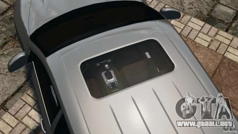 Porsche Cayenne Turbo 2003 para GTA 4 interior