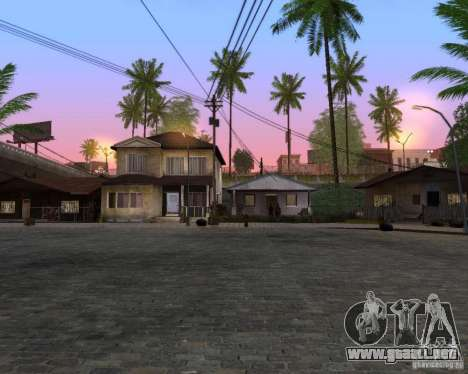 Real World ENBSeries v4.0 para GTA San Andreas tercera pantalla
