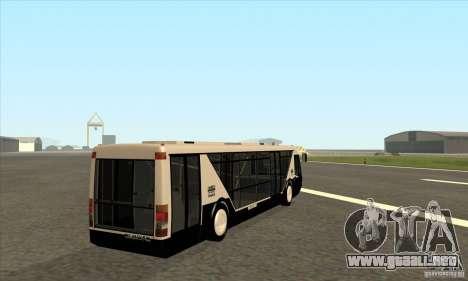 Neoplan Airport bus SA para la visión correcta GTA San Andreas