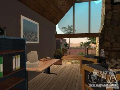 Nueva villa de CJ para GTA San Andreas décimo de pantalla