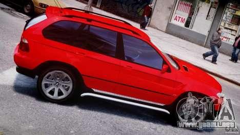 BMW X5 E53 v1.3 para GTA 4 vista desde abajo